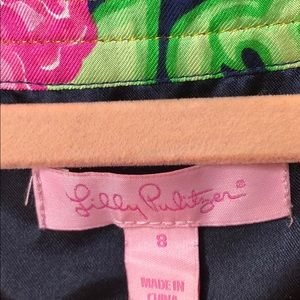 Lilly Pulitzer Dresses - Lilly Pulitzer silk private property Dasha dress